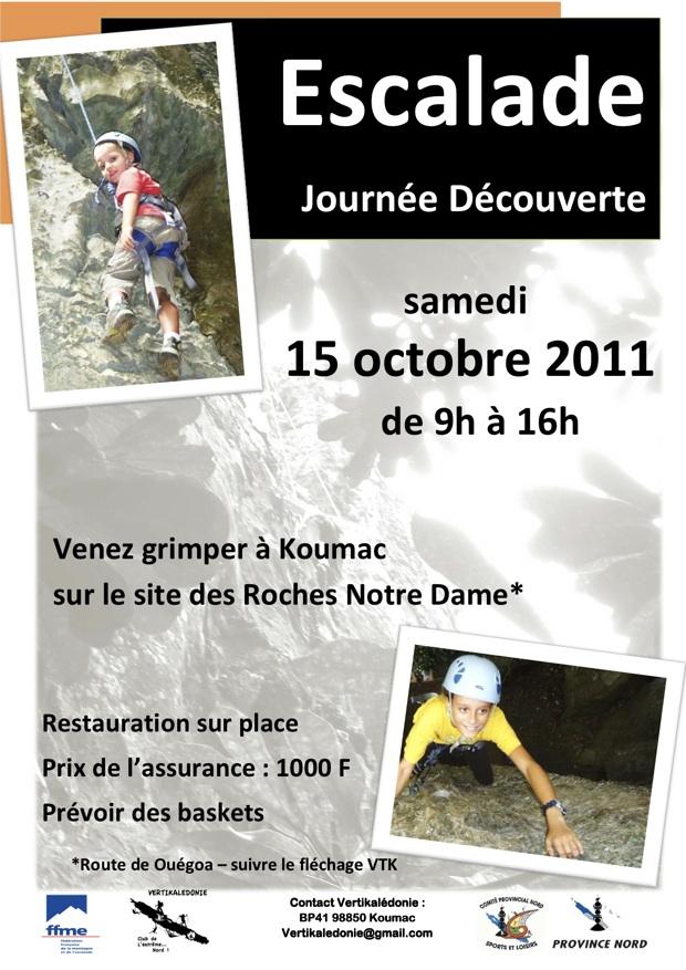 Poster JDE 15 octobre 2011